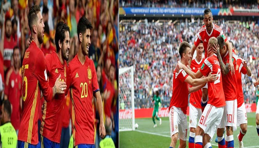 Prediksi Piala Dunia Spanyol Vs Rusia 1 Juli 2018