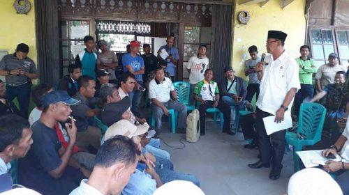 Belum Dapat Dana Konspensasi Dari Pelindo I, Nelayan Tradisional Demo Kantor Camat Belawan