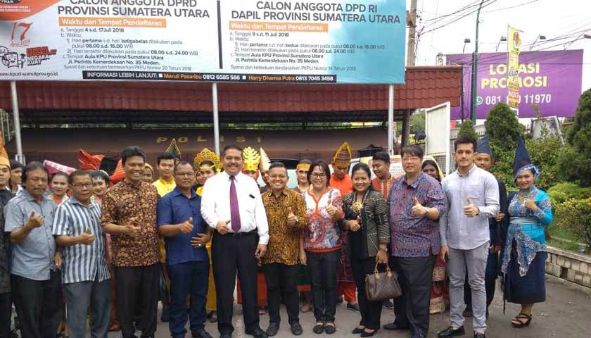 Daftar Calon Anggota DPD RI, Dedi Iskandar Batubara Optimis Raih Suara Terbanyak