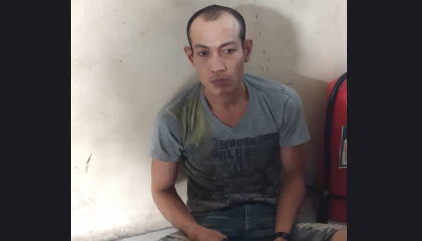 Ditangkap Korban, Pelaku Curanmor Diboyong Ke Polsek Percut Sei Tuan