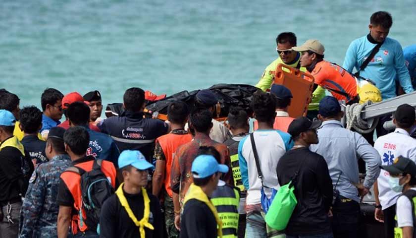 Kapal Wisata Tenggelam di Thailand, 33 Turis Asal China Tewas dan 23 Lainnya Hilang