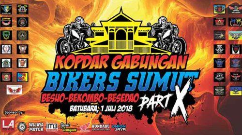 Komunitas motor Batubara sukses melaksanakan Kopdar gabungan Bikers Sumut  Part X
