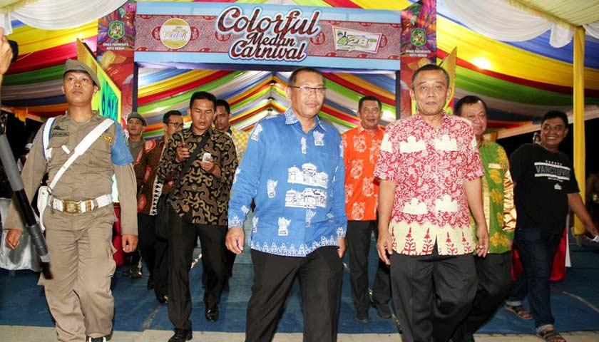 Malam Colorful Medan Carnaval 2018 Dimeriahkan Band asal Ibu Kota Meriahkan