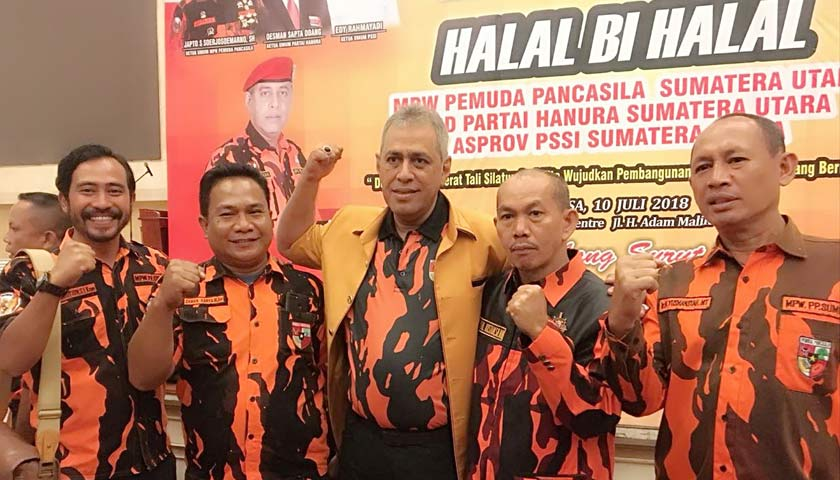 MPW Pemuda Pancasila Sumut Halal bi Halal di Regale Convention Center