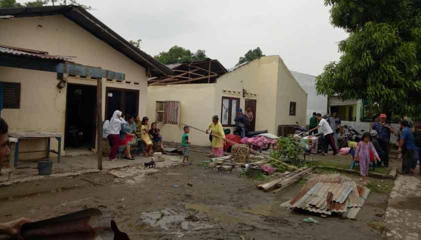 Tiga Kelurahan di Medan Marelan Dihantam Puting Beliung