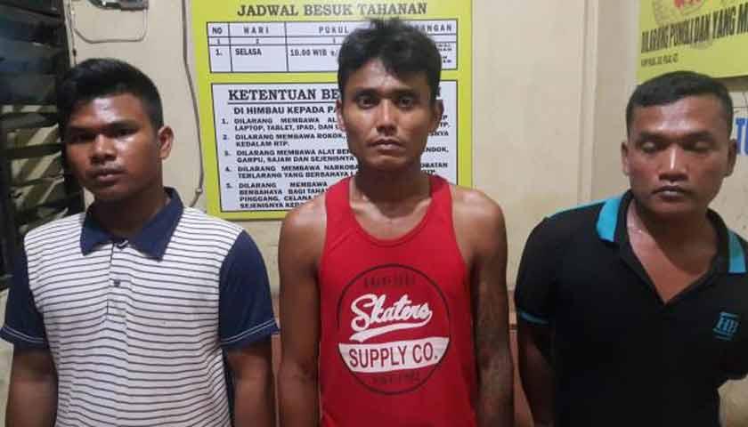 Tiga Pelaku Pungli Supir Truk Dibekuk Personil Subdit IV Krimum Polda Sumut