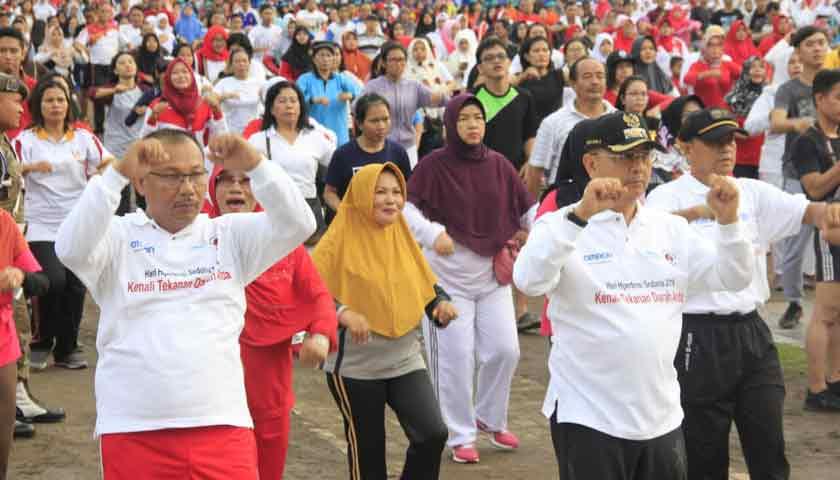 Wali Kota Medan Ajak Masyarakat Rutin Periksakan Kesehatan