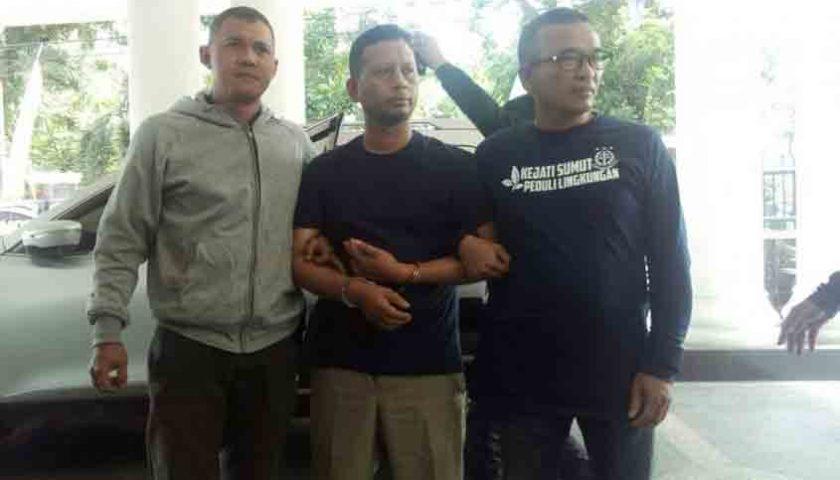 Setahun DPO, Buronan Kejati Sumut Ditangkap di Rumah Kontrakan