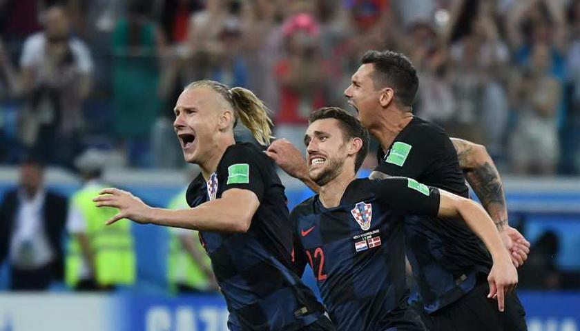Adu Pinalti Pertemukan Kroasia dan Rusia