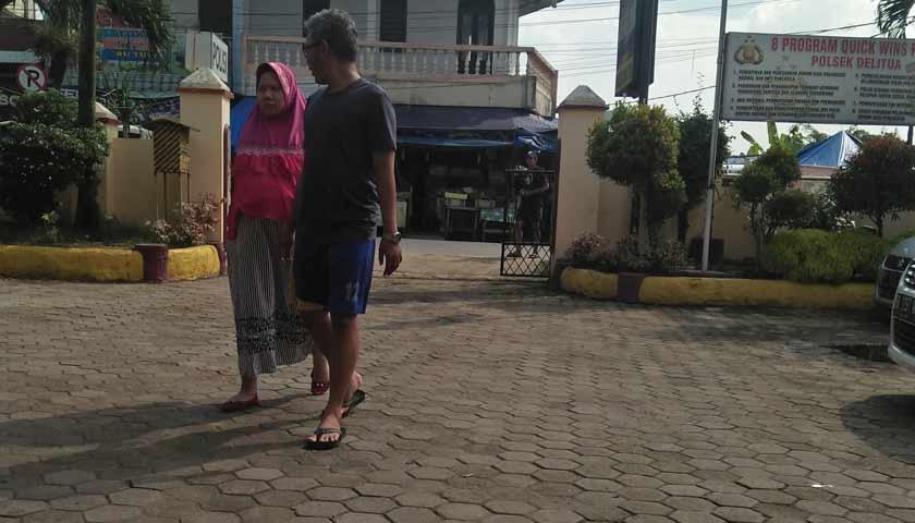 Rumah Tarigan Dibobol Maling, Rp31 Juta Lewong