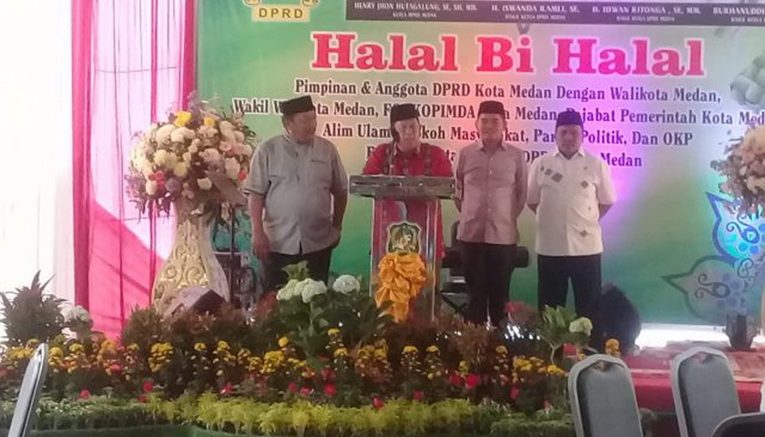 DPRD Medan Gelar Halal Bi Halal