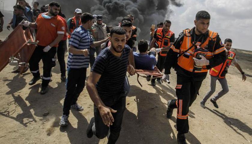Jalur Gaza Memanas, 4 Tewas Ditembak