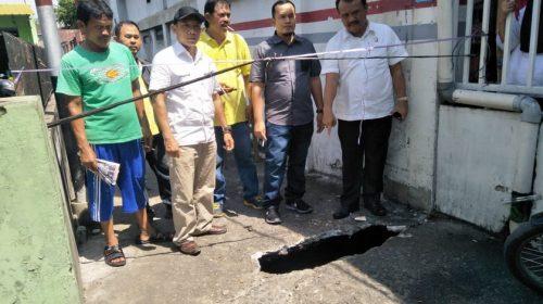 Ketua Komisi D DPRD Medan Minta UPT PU Perbaiki Jembatan