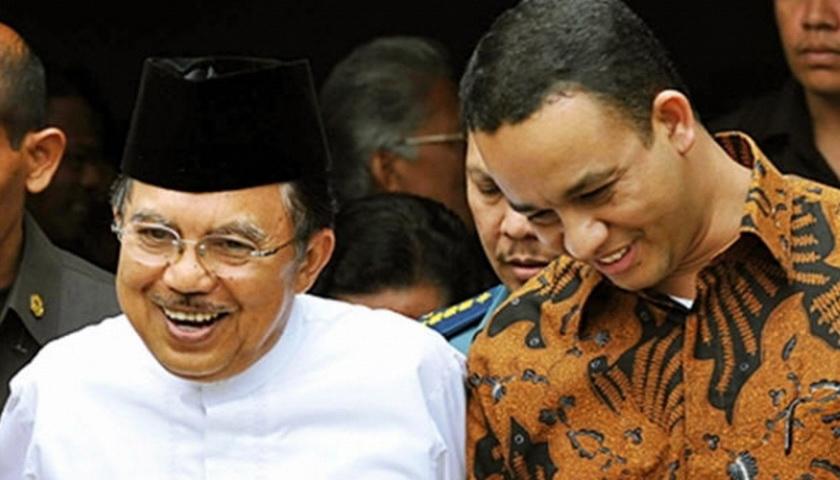 Anies Bantah Deklarasi, JK Bantah Dukung Anies