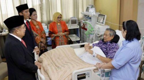 SBY Sakit, Momen Koalisi dengan Jokowi?