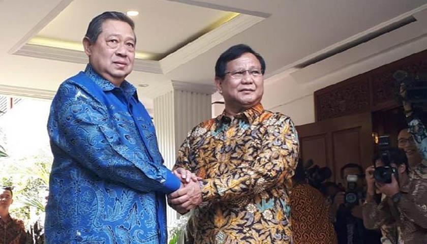 SBY Inginkan Prabowo Menjadi Capres