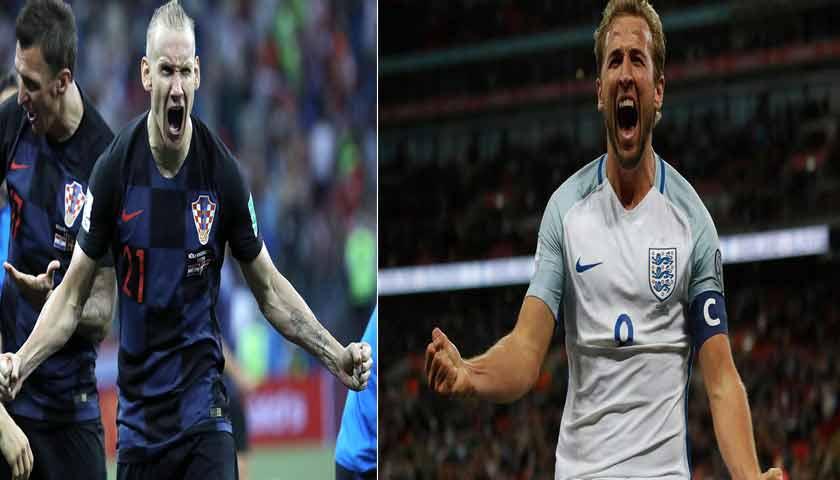 Prediksi Piala Dunia Kroasia vs Inggris 12 Juli 2018