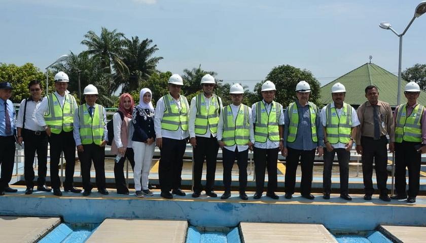Dewan Pengawas Kunker ke Instalasi Pengolahan Air