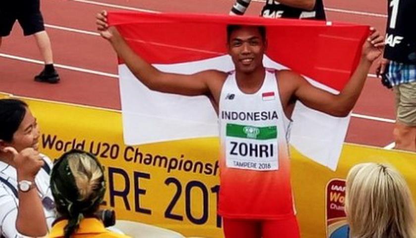 Muhammad Zohri Akui Sulit Raih Emas Asian Games