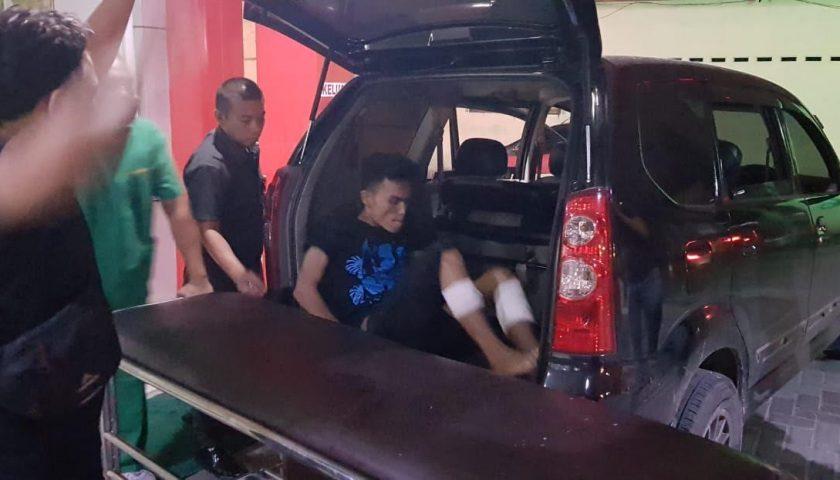 Pembunuh Waria Ditangkap, Kakinya Dilubangi Peluru Polisi