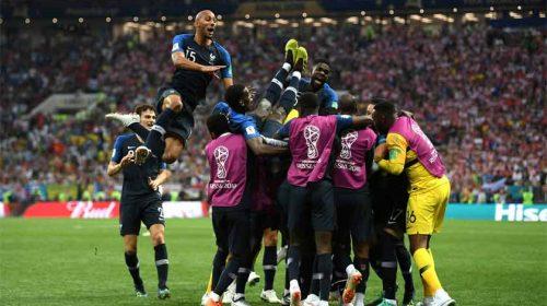 Benamkan Kroasia, Perancis Juara Piala Dunia 2018