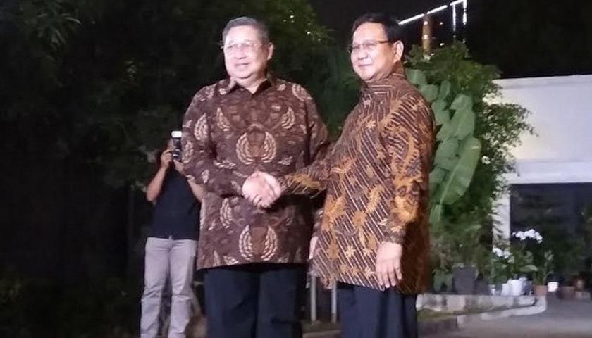 SBY Batal Menemui Prabowo Malam ini