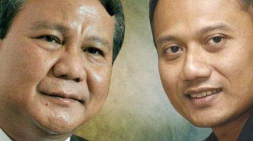 Gerindra Pertimbangkan Duet Prabowo – AHY
