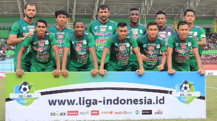 PSMS Medan Terpuruk di Dasar Klasemen Liga 1 Indonesia 2018