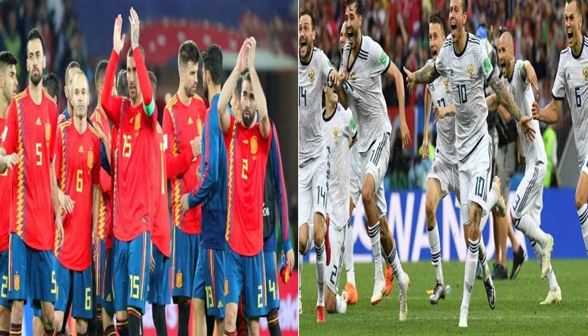 Rusia Pulangkan Spanyol di Piala Dunia 2018