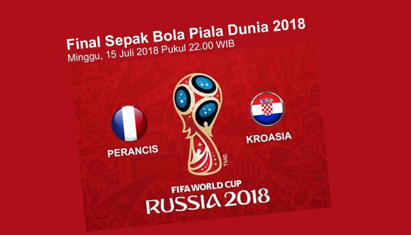 Temu Perancis, Tengku Erry Jagokan Kroasia, Skor 2-1 ?