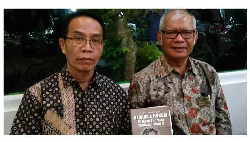 Bachtiar Sitanggang Mantan Wartawan Itu Luncurkan Buku