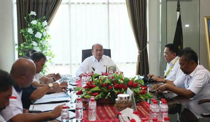 Pengembangan SDM dan Pariwisata, Bupati Taput Pimpin Rapat Koordinasi dengan BUMN