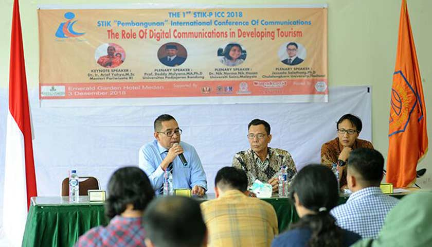 STIK-P ICC Bahas Peran Komunikasi Digital Terhadap Pariwisata Indonesia