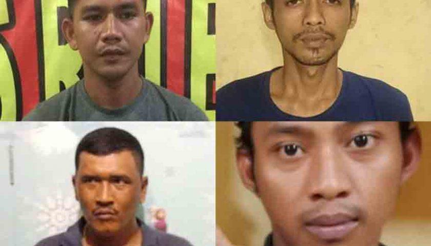 Tahanan Polsek Patumbak, 4 Kabur dari Sel, Nih Fotonya!