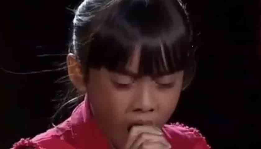 Anak Medan Deli Minta Doa di Ajang The Voice Kids Indonesia