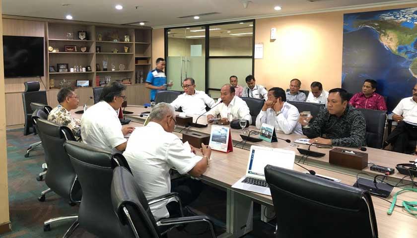 Bupati Taput Hadiri Rapat di Kementerian PPN/Bappenas dan Kemenko Kemaritiman