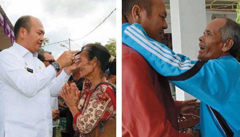 Cita-cita Bupati Taput, Tano Batak Bebas Pasung 2018