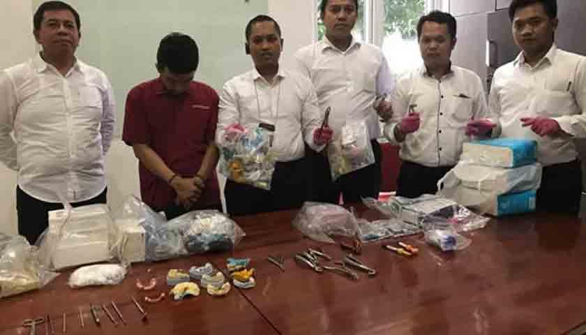 Polisi Tangkap Dokter Gigi Gadungan, Pendidikannya Sarjana Peternakan?