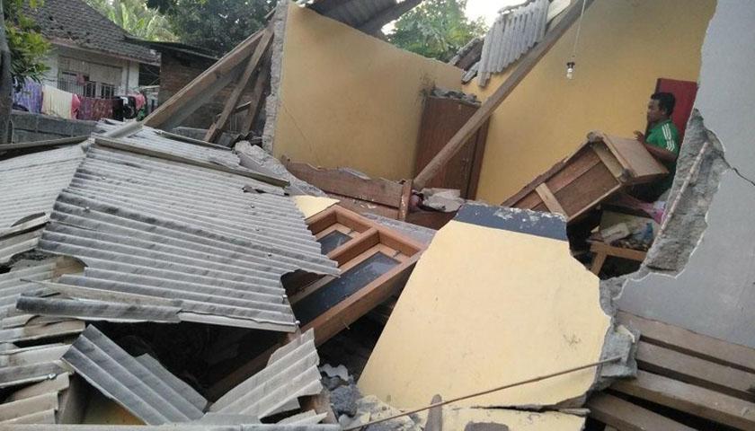 Gempa Kembali Guncang NTB, Kali ini Mencapai 7 SR