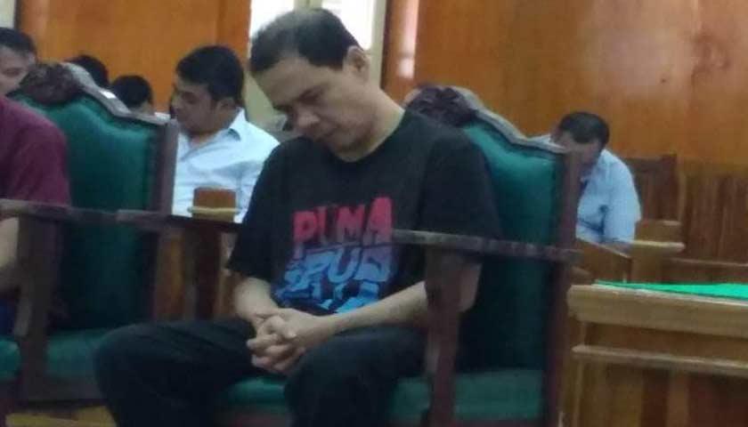 Terlibat Setengah Kilo Gram Sabu, Mantan Pejabat Bank Sumut Dihukum 7 Tahun Penjara