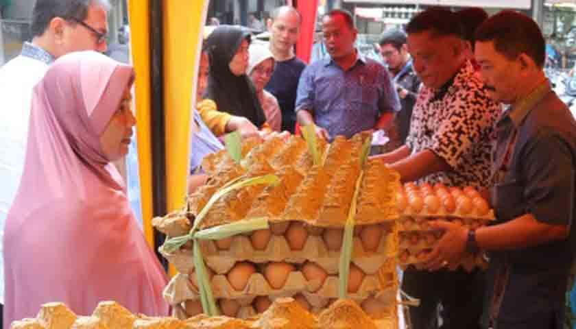 Operasi Pasar Murah, DKPP Sumut Sikapi Naiknya Harga Telur