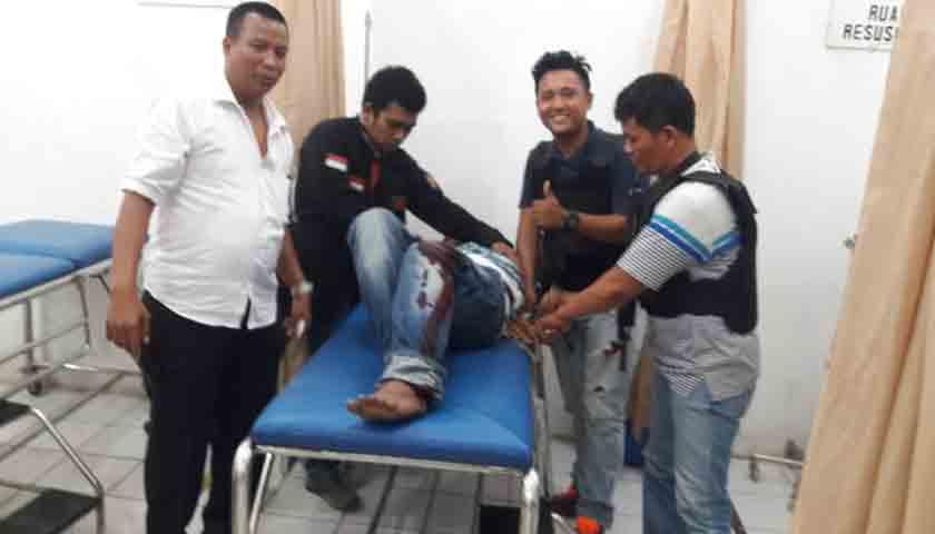 Pencuri Modus Pecah Kaca Terkapar Ditembak Polisi