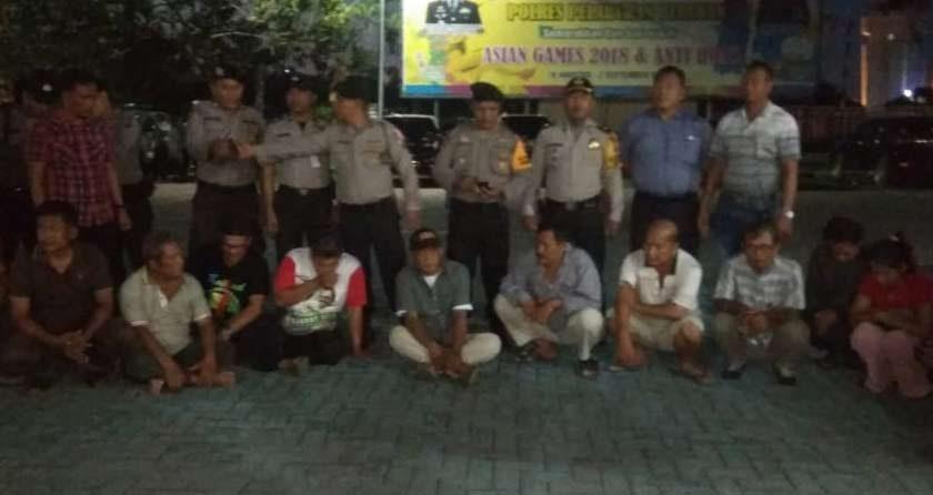 Polisi Razia Kafe, 3 Pasangan Mesum dan 10 Pemain Judi Diangkut