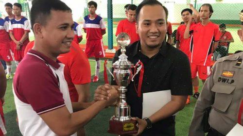 Tim Futsal Polsek Patumbak FC Sabet Juara III Piala Kapolrestabes Medan