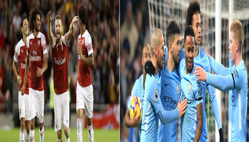 Prediksi Bola Liga Inggris Arsenal vs Manchester City 12 Agustus 2018