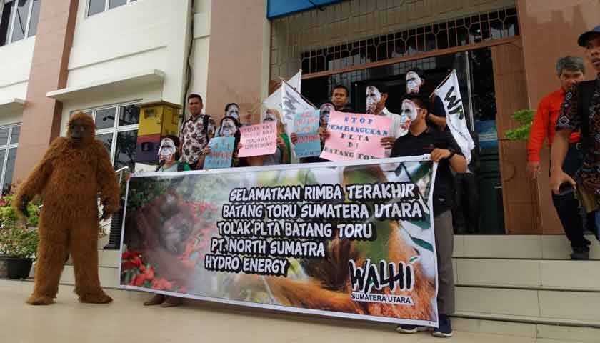 Puluhan Pengacara Gugat Izin Lingkungan Proyek PLTA Batang Toru