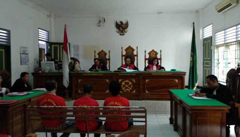 Terlibat Narkoba, Mantan Anggota Dit Pamobvit Poldasu Divonis 8,6 Tahun Penjara