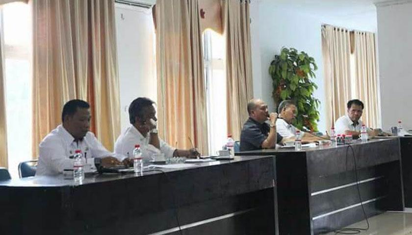 Bupati Pimpin Langsung Rapat Persiapan Peringatan Hari Jadi ke-73 Kabupaten Tapanuli Utara