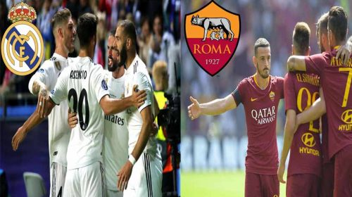 Prediksi Liga Champions Real Madrid vs AS Roma 20 September 2018