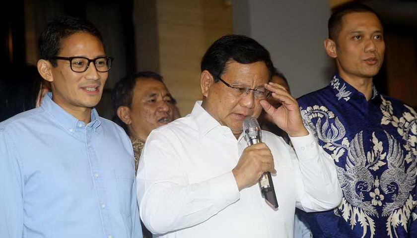 Prabowo tidak Setuju Debat Pakai Bahasa Inggris